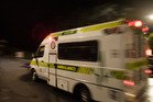 The man was taken to hospital with moderate injuries. Photo / File