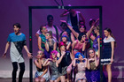 Rotorua Lakes High School students during their Stage Challenge performance in 2015. Photo/File