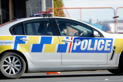 Canterbury police responded last night to a report of a woman claiming to have a bomb. Photo/Bevan Conley