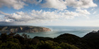 View of Manukau Heads from Mt Donald Mclean Lookout in the Waitakere Ranges Auckland. Photo / Richard Robinson