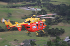 The Auckland Westpac Rescue Helicopter airlifted a teenager to Auckland City Hospital on Saturday after her vehicle rolled near Kaukapakapa. Photo / File