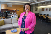 """Police Minister Paula Bennett says the battle against meth is """"tough"""". Photo / Mark Mitchell."""