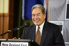NZ First leader Winston Peters. Bay of Plenty Times Photograph by George Novak