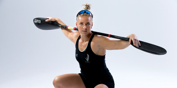 Olympic athlete portrait, Caitlin Ryan. New Zealand Herald Photograph by Brett Phibbs.