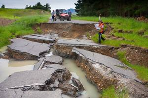 The government needs to replenish the national disaster fund after the Kaikoura and Canterbury earthquakes. Photo/Dr Kate Pedley.