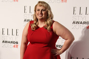Rebel Wilson poses for photographers upon arrival at the Elle Style Awards in London in 2015. Photo / AP