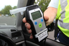 The Christchurch driver had a breath alcohol reading of 1025mcg/l, the legal limit is 250mcg/l. Photo / Duncan Brown