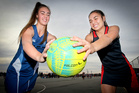 Jaydi Taylor-Chaffey (left) and Asher Grapes will learn more than just netball in Suva, Fiji, as members of the Aotearoa Maori Secondary Schools team this week. PHOTO/Warren Buckland