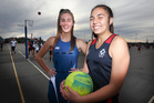 Jaydi Taylor-Chaffey (left) and Asher Grapes have returned undefeated, as part of the Aotearoa Maori Secondary Schools netball team, in Suva, Fiji, last week. PHOTO/FILE