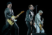 U2 are bringing their Joshua Tree tour to New Zealand next year. Photo / NZPA - Wayne Drought