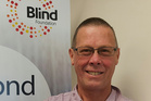 Kingsley Sivewright at the Blind Foundation Napier