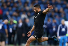 Despite being a great goal-kicker, there is no room for a second out-and-out first five in the All Blacks squad, leaving Lima Sopoaga in the lurch. Photo/Photosport.nz