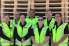 Some of the Tumu Timber team from left: Tammy Alve, Spencer Bartlett, Melanie Gettins, Mutu Ngarimu, Kylie Truman, Daniel Somerville, and Nichola Tuakanangaro. Photo/Supplied