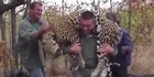 Watch: Archive: Theunis Botha takes part in leopard hunt