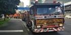 Watch: Firefighters attend Fanshawe St fire