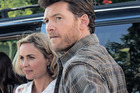 STARS: Radha Mitchell and Sam Worthington in The Shack.
