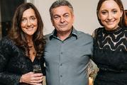Karen Ristevski with her husband Borce Ristevski and daughter Sarah, 21. Photo / Supplied