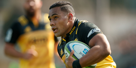 Ngani Laumape of the Hurricanes. Photo / Photosport