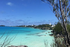 The blues in Bermuda can't get you down. Photo / Annabel Langbein