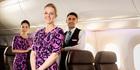 Air New Zealand cabin crew.