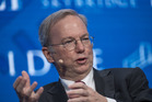 Eric Schmidt, executive chairman of Alphabe. Photo / David Paul Morris