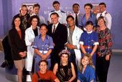 The original Shortland Street cast of 1992.