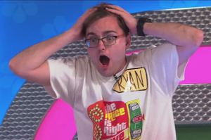 The contestant named Ryan went bananas as he broke the Plinko record on The Price is Right. Photo / The Price is Right