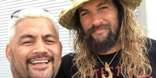 Jason Momoa Performs the Haka With Auckland's UFC Team