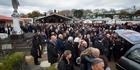 Watch: John Chadwick's funeral II