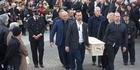 Watch: John Chadwick's funeral