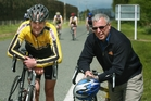 Ivan Aplin (right) is looking forward to the challenges of the broader governance of all cycling codes. PHOTO/FILE