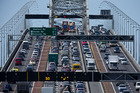 Traffic on the Auckland Harbour Bridge. Photo / File