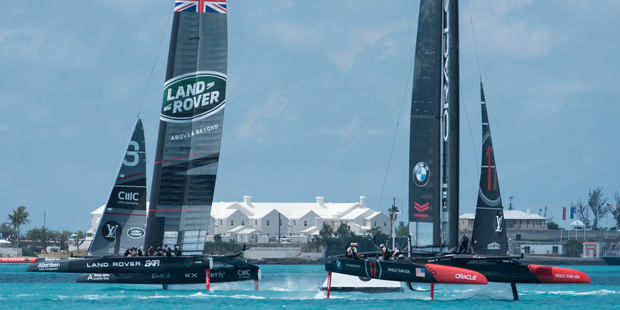 Kiwis win thriller on Swede penalty in America's Cup trials