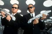 Tommy Lee Jones and Will Smith star in the film Men In Black. Photo / Getty