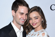 Miranda Kerr and Evan Spiegel are now married. Photo / Getty