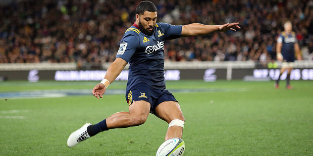 Naholo to start on the wing for Highlanders against Crusaders