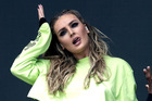 Perrie Edwards performs at BBC Radio 1's Big Weekend with Little Mix. Things got a little heated on stage. Photo/Getty
