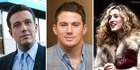 Ben Affleck, Channing Tatum and Sarah Jessica Parker. Photos / Getty