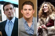 Ben Affleck, Channing Tatum and Sarah Jessica Parker. Photos / Getty