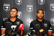 Head coach David Kidwell announces new Kiwis captain Adam Blair. Photo / Getty Images.
