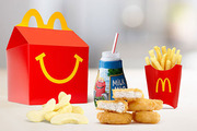Louise questioned why the restaurants are still handing out toys based on gender stereotypes. Photo / McDonald's website