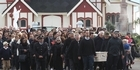 Watch: John Chadwick's body arrives at marae
