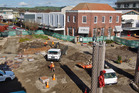 Work is on track to have Manawa - Heart of the City completed on schedule. Photo/Stephen Parker