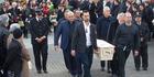 View: John Chadwick's funeral
