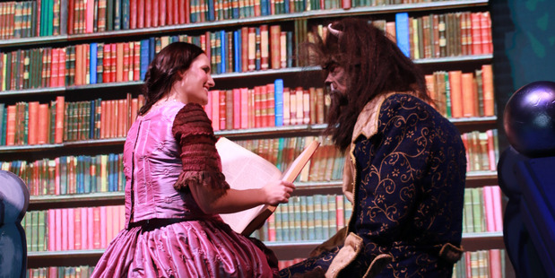 A Beauty and her beast....both Krystal Leuthard as Belle, and Bergen Raikes as Beast, play their parts well, taking you on a wonderful journey through the storyline.