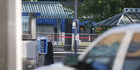 The station where the deadly stabbing on a Metropolitan Area Express train in northeast Portland, Oregon took place. Photo / AP