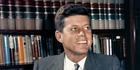 John F. Kennedy. Photo / AP