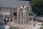 Winston's pledge on Cathedral rebuild