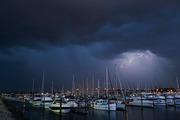 Lightning in Tauranga. Photo/file