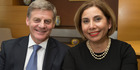 Prime Minister Bill English will get a chiefly title in Samoa, where his wife Mary has family ties. Photo / Mark Mitchell